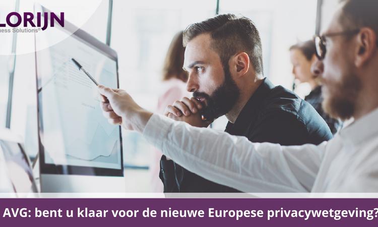 De privacywet Algemene verordening gegevensbescherming (AVG) staat voor de deur