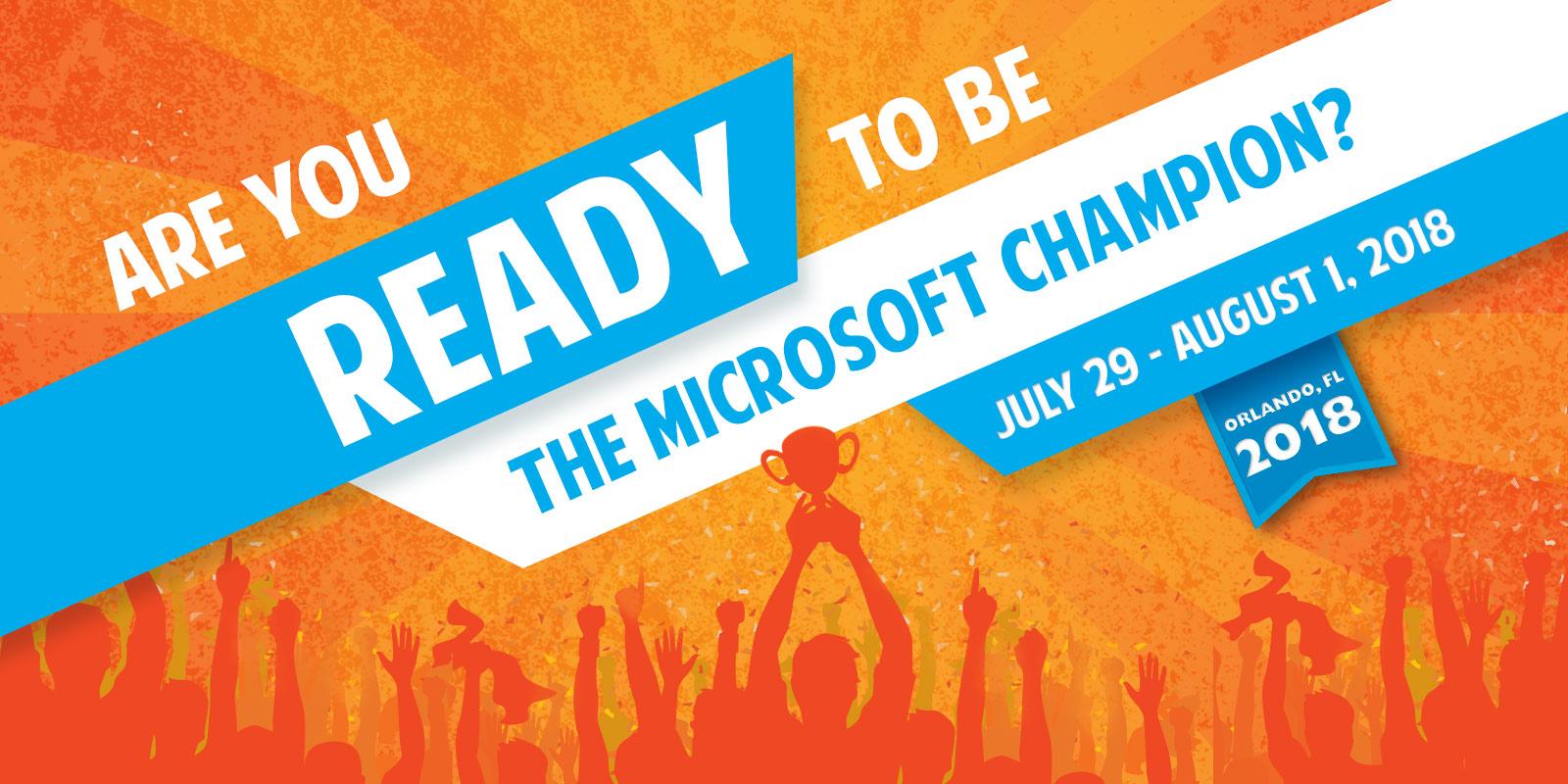 Microsoft Office Specialist World Championships 2018