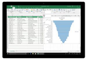 Nieuwe versie Excel 2019