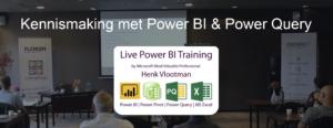 Kennismaking met Power BI & Power Query