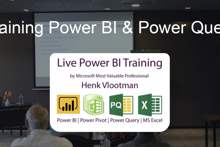Training Microsoft Power BI & Power Query by Henk Vlootman